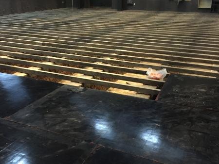 舞台看台舞蹈教室施工案例