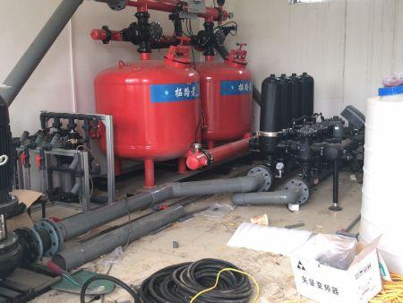 北京园区水肥及物联网工程现场图