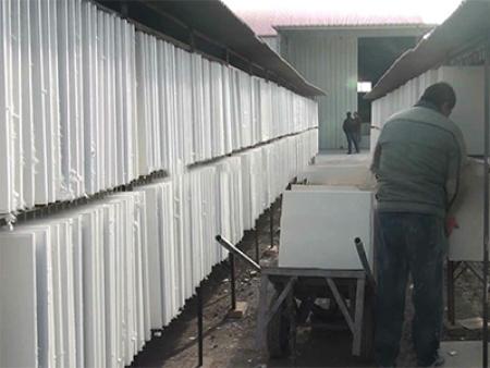 石膏天花板机器价格你了解多少?先来看看生产线的运行过程。