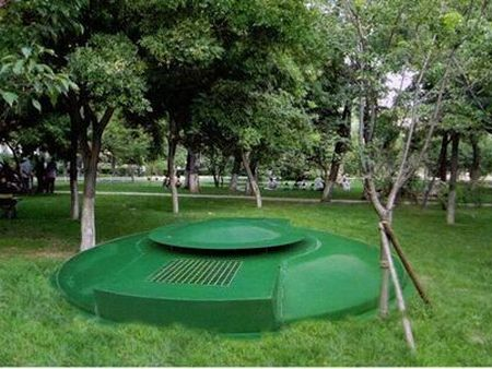 景區地埋式一體化污水處理設備