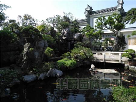 别墅庭院景观施工