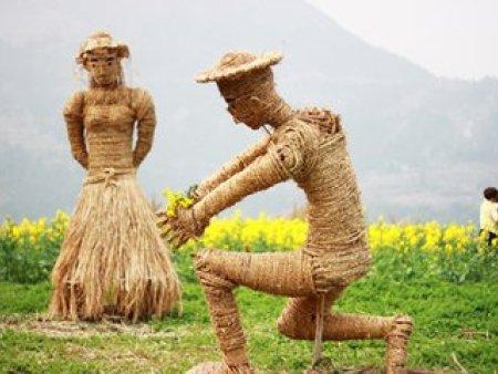 稻草人工艺