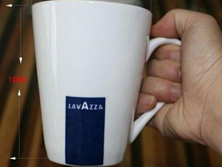 强化瓷经典意大利LAVAZZA拉瓦萨兰标咖啡杯 马克杯280ML单杯