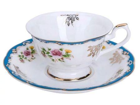 AMI亚米 红茶杯 骨瓷杯 牡丹咖啡杯 YM0050咖啡杯150ml
