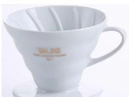 YAMI亚米 V01型陶瓷咖啡滤杯 锥型冲杯 滴滤杯 手冲咖啡滤杯