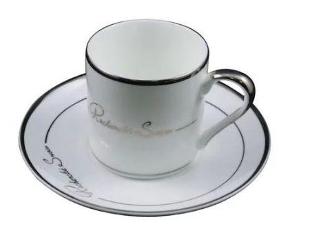 亚米YM0046意式五入杯浓缩骨瓷咖啡杯 陶瓷咖啡杯