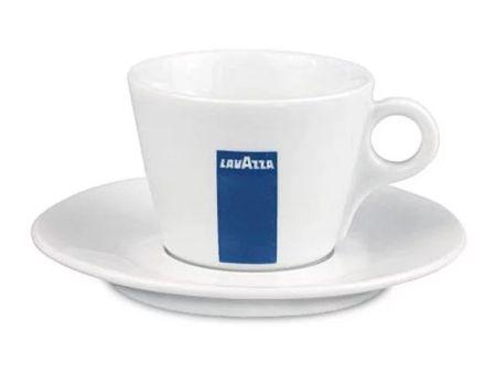 强化瓷经典意大利LAVAZZA拉瓦萨兰标咖啡杯型 卡布杯L一套