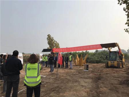 一分鍾挖一棵大樹 苗木花卉全程機械化現場演示會舉行