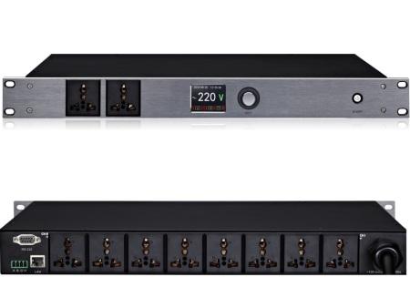 S108/S108A8路智能电源时序器,带电源滤波净化管理器