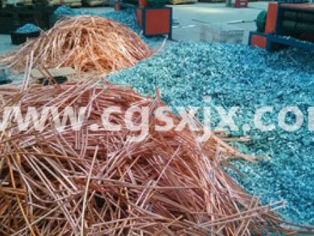 石家庄绿色再生铜铝再生拆解车间 (2)