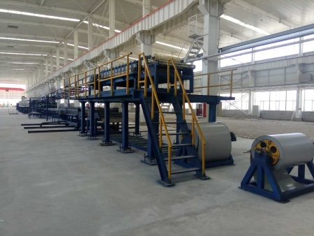经济型聚氨酯复合板生产线