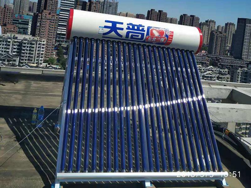 沈阳太阳能维修:太阳能热水器几种常见故障及维修方法