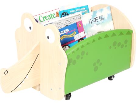 鳄鱼移动书柜