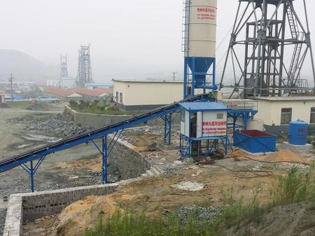 鐵礦充填站