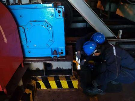 綏中輸煤項目部開展二期輸煤廊道文明生產治理工作