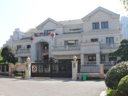 荣锦园56幢别墅,3000M²,地源热泵空调地暖系统,中央水处理系统