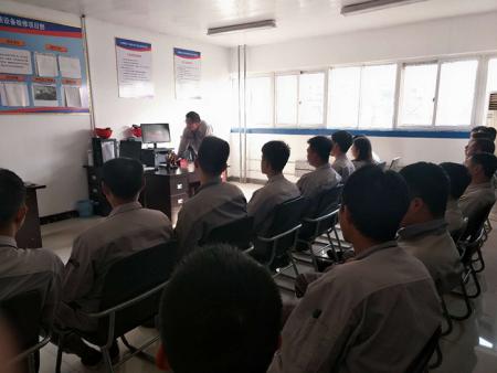 綏中項目部召開視頻安全座談會議