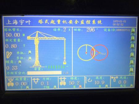 塔机防碰撞系统