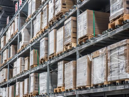 纳森货架定制适用仓储的重型仓储货架进程