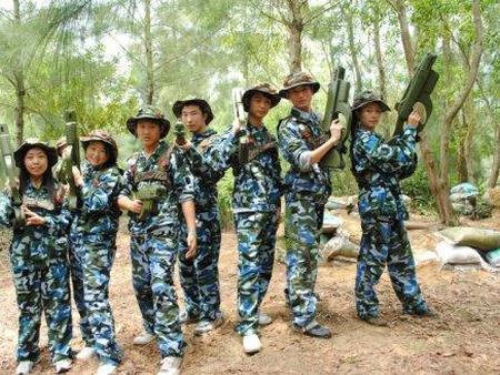 廣州真人CS-從化軍事拓展