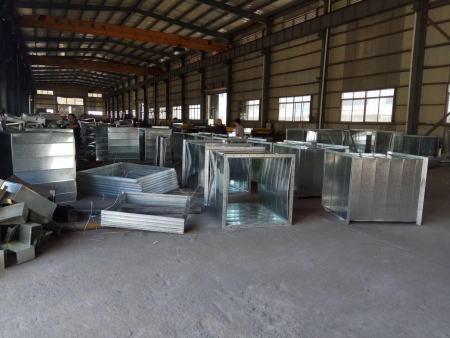 风管安装采用预制加工技术优势