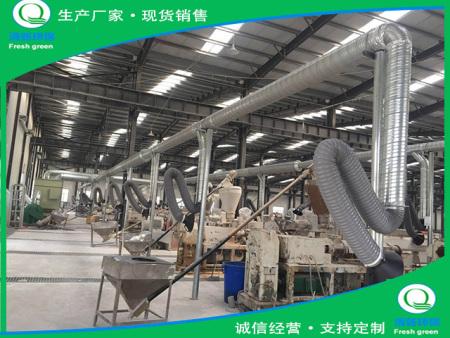 河北钜洋管业PVC管生产线除尘项目