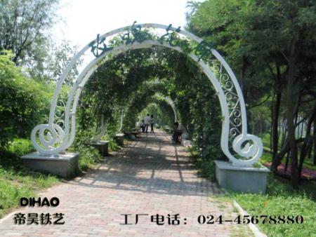 铁艺景观廊架