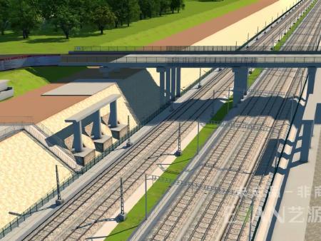 湖南桥梁工程动画制作