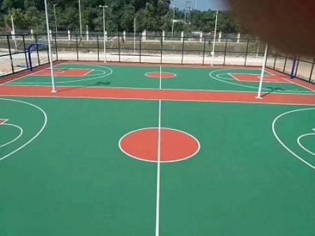 惠州弹性丙烯酸篮球场