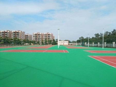 惠州丙烯酸球场