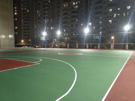 深圳丙烯酸羽毛球场
