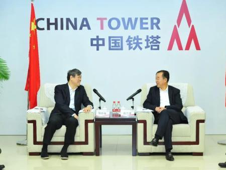 """铁路总公司与中国铁塔携手打造""""高速铁路+移动宽带""""工程"""