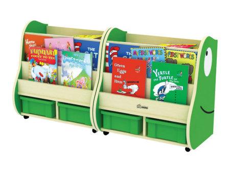 青蛙书柜(枫木纹)