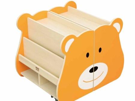 小熊书柜(枫木纹)