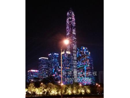 南宁楼体LED必威体育官方下载照明工程