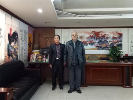 祝贺牟怀斌老师授任中国传媒书画院名誉主席