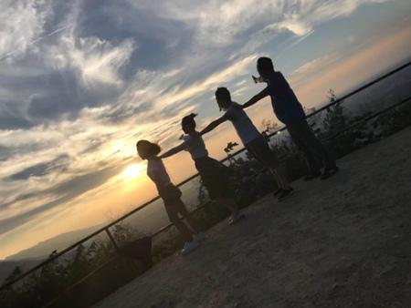 體能訓練—山頂看日落