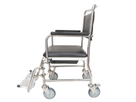 Stainless Steel Shower Commode Chair CC75018