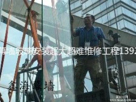 幕墙玻璃开窗扇广州外墙玻璃开窗与改造