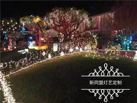 广西节日灯饰定制