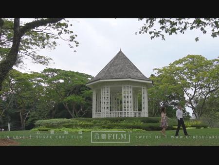 新加坡城市花园婚礼