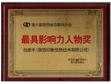 互联网大会最具影响力人物奖