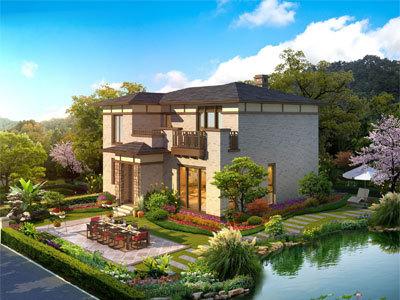 重庆别墅私家花园设计施工_屋顶花园设计_植物租赁租摆【默航园林】