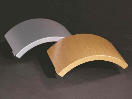 雙曲鋁單板施工工藝下產品的特點