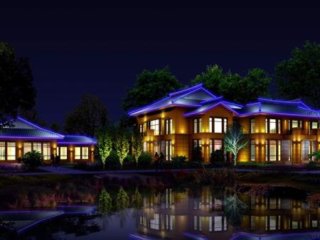 园林景观照明设计的四大原则