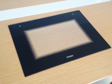 怎样安装丝印钢化烤箱玻璃比较省力
