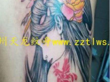 鄭州刺青培训,来郑州天龙纹身店