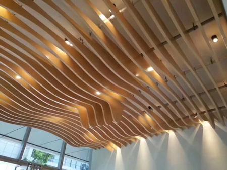 万博manbetx官网手机版登陆铝天花板系列-异型铝方通吊顶