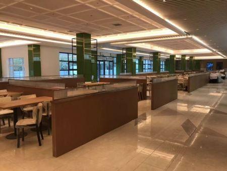 青海油田敦煌基地职工餐厅内外装铝万博manbetx官网app下载