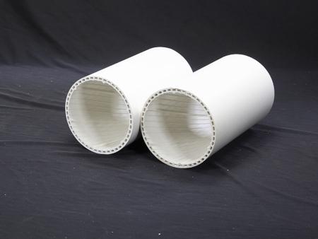PVC中空螺旋管材